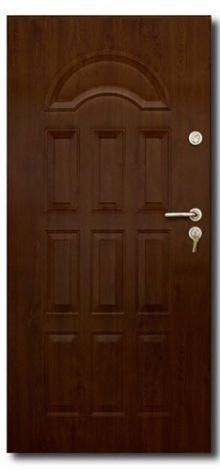 """Входные двери """"СтальДрев"""" Модель: Юпитер 101 Внутренняя сторона"""